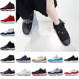 $enCountryForm.capitalKeyWord NZ - 2018 New 11 Gym Red Midnight Navy Space Jam 45 Sports Basketball Shoes GS Heiress Suede Maroon Bred 11s Blue Moon Sunset Sneakers US 5.5-13