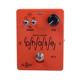 chorus flanger pedal Australia - Biyang CH-12 Analog Chorus Tone Effect Guitar Pedal True Bypass Electric Guitar pedal With Gold pedal Connector
