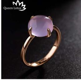 025400abc518 Reina Lotus nuevo anillo de moda simple coreano Ojo de piedra de piedra  personalidad plata anillos de oro mujeres joyería de las señoras de alta  calidad