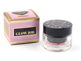 Face Glow Cream NZ - GLOW JOB 6 colors Radiance Boosting give yourself a glow job mask Glitter face mask soft facial mask