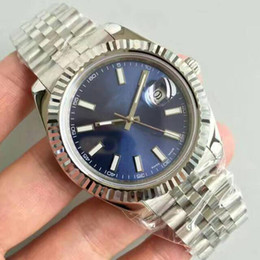 Best silver watches online shopping - Best selling kinds of luxury watch roles High quality AAA Sapphire original strap automatic movement MM dial just Oyster watch