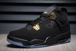 c714d546a4bc 2018 KAWS x 4 XX Kaws Cool Grey White black Glow Basketball Shoes Mens Best  Quality 4s White Blue black sports sneakers