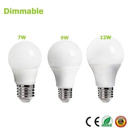 Dimmable Energy Saving Bulbs Wholesale Australia - E27 Dimmer bulb 85-265V 7W 9W 12W Energy Saving Bright Smart LED Light lampada dimmable bulb led foco lamparas Dimming