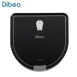 Smart Hair UK - Dibea Robot Vacuum Cleaner Smart with Wet Mopping Robot Aspirador with Edge Cleaning Technology for Pet Hair Thin Carpets TB