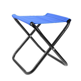 lightweight camp chairs NZ - Portable Folding Fishing Chair Seat Outdoor Lightweight Foldable Camping Chair for Picnic Beach Carp Pesca