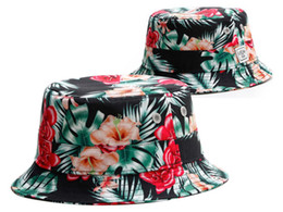b4723a6de0aab Summer Maple Leaf bucket hat floral fisherman fashion Embroidery visor caps  Men Women outdoor sun beach hat for free shipping
