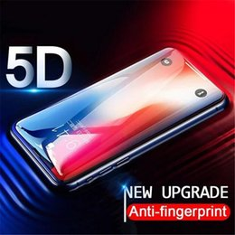 $enCountryForm.capitalKeyWord Australia - 5D Full Coverage Tempered Glass Screen Guard Protector For iPhone X 8 7 7plus 6 6s 5