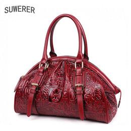 855677c9d8c4 оптовая 2018 новый китайский стиль Женская натуральная кожа сумка плеча  сумка Роскошные Сумки женские сумки дизайнер
