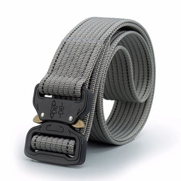 Chinese  Men SWAT Military Equipment Paintball Army Belt Heavy Duty US Soldier Combat Tactical Belts Nylon Waistband manufacturers