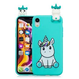 Discount 3d dog iphone - 3D Doll Unicorn Panda Owl Soft TPU Case For Iphone XR XS Max X Huawei Mate 20 Lite Nova 3I P20 Pro Y3 Y5 Y7 2018 Cat Dog
