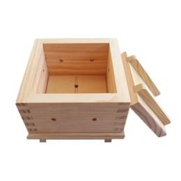 Ingrosso Tofu stampa stampo creatore di legno materiale fatto in casa rotolo di riso libero stuoia di stoffa stampo bakeware utensili da cucina strumento di sushi di bambù a vapore