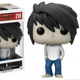 One Piece Pop Figures NZ - Funko POP Action Figures Death Note Ryuk Lawliet Garage Kit Animation Figurine Toy Collection Model Toys Dolls 25xb WW
