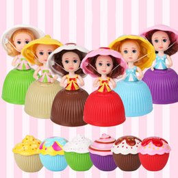 $enCountryForm.capitalKeyWord NZ - Mini Beautiful Cake Doll Toy Cupcake Princess Doll Toys for Children Kid Transformed Scented Girls Funny Game Gift