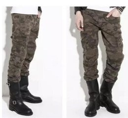 Racing Harnesses NZ - 2018 the new KOMINE camouflage jeans motorcycle racing bike riding trousers belt harness.