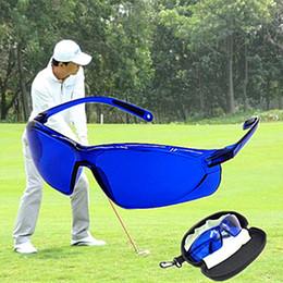 гольф найти очки профессиональный мяч Finder защита глаз Гольф аксессуары синий линзы спортивный корабль с делом