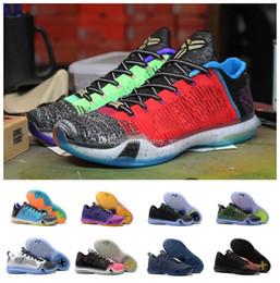 the latest 438a9 bcdc8 Vente chaude 2018 Top qualité kobe 10 bas chaussures de basket-ball de  tissage pour les hommes ce que le KB 10 s yin et yang Or Noël Rainbow  Sports Sneakers
