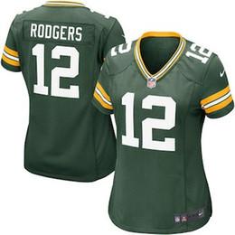 Aaron Rodgers Jersey Packers Green Bay Clay Matthews Brett Favre custom  authentic elite american football jerseys women mens youth kids 4XL 92e98e69e