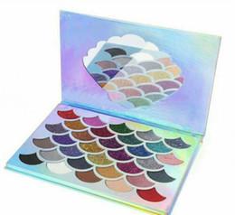 $enCountryForm.capitalKeyWord NZ - Fish Scales CLEOF glitter Eyeshadow Palette 32 Glitter Colors Shimmer Eye Shadow DHL Free