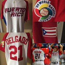 Discount puerto rico jersey -  21 Carlos Delgado Puerto Rico WBC 2009 World  Baseball Classic 0fbc7b340