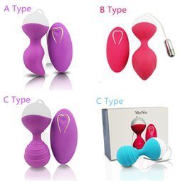 remote controlled vaginal toys UK - Mannuo Wireless Remote Control Vaginal Balls Kegel USB Rechargeable Silicone Sex Eggs Vibrator Female Ben Wa Ball Adult Sex Toys Y1892903