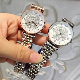 Watches marca online shopping - Famous Brand Women Watch With Diamond Casual Designer Rose WristWatch Ladies Fashion Luxury Quartz Rhinestone Watch Relojes De Marca Mujer