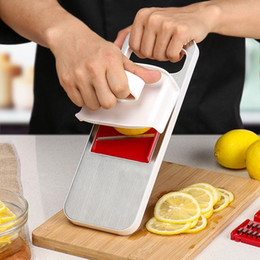 multi slicer dicer Canada - Multi Mandoline Vegetable Slicer Grater Stainless Steel Potato Carrot Dicer Peeler Kitchen Gadget Salad Maker Assistant Cooking