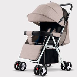Chinese  Baby strollers lightweight folding umbrella strollers portable baby for dolls can sit can lie ultra-light manufacturers