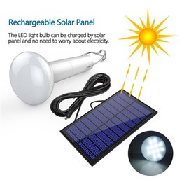 Solar Energy Saving Bulbs Australia - Portable Solar Bulb Outdoor Waterproof Solar Energy Saving Light for Home Emergency Camping Hiking Tent Chicken Coop Shed Barn Lighting
