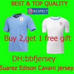 c8b764d58 Thailand Soccer Jersey 2018 World Cup Uruguay L.SUAREZ jersey E.CAVANI D. GODIN C.STUANI D RLAN J.M.GIMENEZ jerseys football shirts