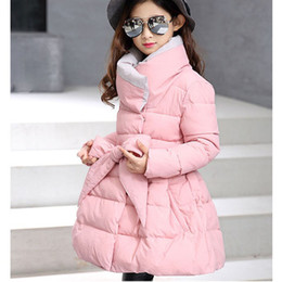 $enCountryForm.capitalKeyWord Canada - big baby girls coats dress warm clothes cotton padded long jacket kids girl winter 2018 new thick black purple black children
