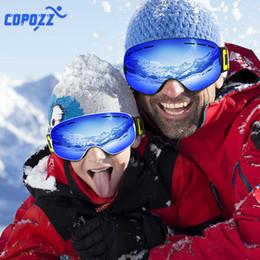 $enCountryForm.capitalKeyWord NZ - COPOZZ Parent Child Ski Goggles 2 Pack Set Snowboard Anti fog Skiing Glasses UV400 for Famliy Men Women Kids Sport Snow Eyewear