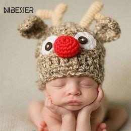 wool ball hat children 2019 - NIBESSER 2018 New Christmas Hat Adult Children Color Ball Hat Christmas Halloween LED Light Knit Cap Lantern Single Cap
