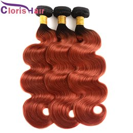 Discount golden hair color - Dark Roots Golden Blonde Malaysian Virgin Body Wave Human Hair 3 Bundles Two Tone 1B 350 Ombre Extensions Cheap Wavy Col