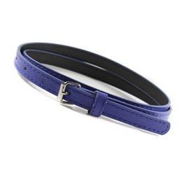 Sweetness Women Faux Leather Belts Candy Color Thin Skinny Waistband Adjustable Belt S72 Back To Search Resultsapparel Accessories