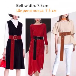 wide waist belts Australia - New Adult Women Belts Fashion Personality Plus velvet High Quality female Belts Big Size Wide Waist Belts