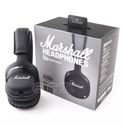 Marshall MID Bluetooth Headphones With Mic Deep Bass DJ Hi-Fi Headset Professional Marshall Headphones With Reatil Box on Sale