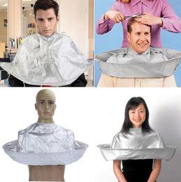 $enCountryForm.capitalKeyWord Australia - Adult Foldable Hair Cutting Cloak Umbrella Cape Salon Waterproof Barber for Salon Barber Special Hair Styling Accessory gift Free Shipping