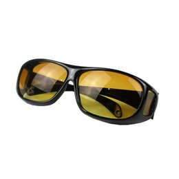 Night drive suNglasses online shopping - Night Vision Driving Sunglasses Yellow Lens Unisex Multi Function Wind Proof Mountaineering Goggles Anti Glare Outdoor Eyewear gt WW