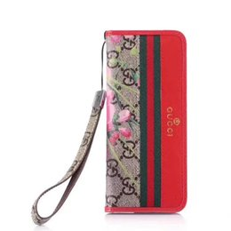 Luxury designer waLLet case online shopping - New luxury wallet case printing designer phone cases For iphone case plus X XR XS Max anti drop package