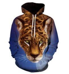 $enCountryForm.capitalKeyWord UK - Wholesale--2018 New Hip Hop Style 3D Printed Hoodie Sweatshirt Unisex Leopard Moon Funny Clothing Tops HH047