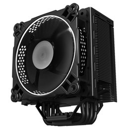 Discount cpu pieces - 1 Piece Jonsbo CR-201 CPU Cooler Radiator with Computer 120mm LED Fan 4 Heat Pipe PWM 4-Pin Support INTEL LGA 775   115X