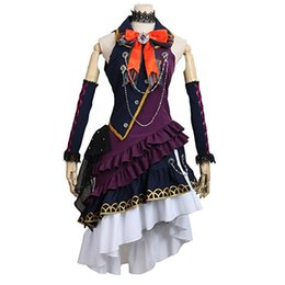 China BanG Dream Cosplay Costumes BLACK SHOUT Roselia Imai Lisa Halloween Uniform supplier bang game suppliers