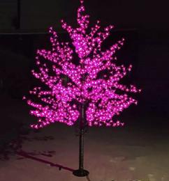 $enCountryForm.capitalKeyWord Australia - LED Artificial Cherry Blossom Tree Light Christmas Light 1152pcs LED Bulbs 2m Height 110 220VAC Rainproof Outdoor Use Free Shipping