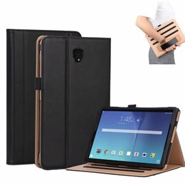 """waterproof tablet china 2019 - Case For Samsung Galaxy Tab S4 10.5 T830 T835 T837 10.5"""" Smart Cover Funda Tablet Hand Strap SM-T830 SM-T835 +PEN c"""