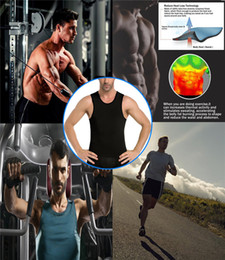 $enCountryForm.capitalKeyWord Australia - Body Shaper Loseweight Ningmi Slimming Mens Vest Hot Shirt Sweat Sauna Suit Tummy Fat Burner Waist Trainer Fitness Tank Top
