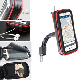 lenovo mobile touch screen NZ - Touch Screen Bicycle Motorcycle Bike Mobile Phone Holders Bags For iPhone XS XR XS Max,ZTE Axon 9 Pro,nubia Z18,For Lenovo Z5 C18110801