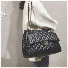 $enCountryForm.capitalKeyWord Australia - Luxury Handbags Women Bags Designer Brand Tote Casual PU Leather Chain Large Shoulder Crossbody Bags for women 2018 sac a main D18102407