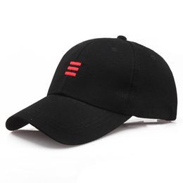 Designer New Curved Cotton Baseball Caps Basketball Hats For Adults Mens  Womens Black Pink Red Solid Color Sun Visor Brand Gorras 48d62875d