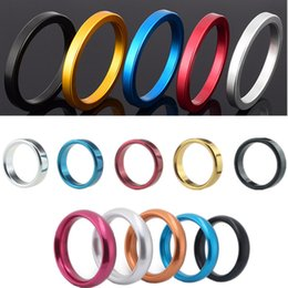 $enCountryForm.capitalKeyWord Australia - 2pcs lot Aluminium Alloy Male Cockrings Penis Lock Loops Delay Ejaculation Cock Rings Penis Rings Adult Products Sex Toys for Men B2-2-47