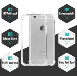 case protection iphone 5s NZ - Hot Anti-Knock Shockproof for iPhone 7 Case 360 Body Protection Cases for iPhone 8 Case 5s X Soft TPU for iPhone 6s Case